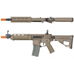 ARES M4 X AEG Compact CQB Airsoft Rifle - DARK EARTH