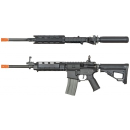 ARES M4 X AEG Compact Long Airsoft Rifle - BLACK