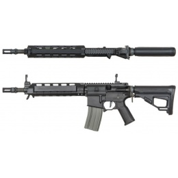 ARES M4 X Amoeba AEG Standard Short Airsoft Rifle - BLACK