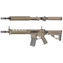 ARES M4 X Amoeba AEG Standard Short Airsoft Rifle - DARK EARTH