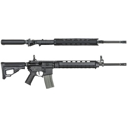 ARES M4 X AEG Standard Long Airsoft Rifle - BLACK