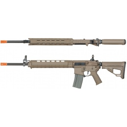 ARES M4 X AEG Standard Long Airsoft Rifle - DARK EARTH