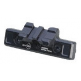 ARES Metal 45 Degree 2-Slot Mount for Keymod System - BLACK