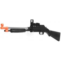 A&K Airsoft M290B Spring-Powered Pump Action Shotgun