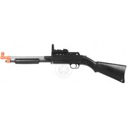 A&K Airsoft M290B Spring-Powered Pump Action Shotgun