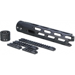 ARES M4/M16 Aluminum Alloy Middle Octagonal Hanguard Set - BLACK