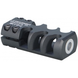 ARES Aluminum Long SL8/SL9 Airsoft Muzzle Break - BLACK