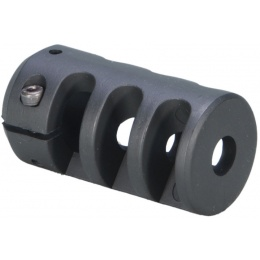 ARES Aluminum 70mm MSR Sniper Airsoft Muzzle Break - BLACK