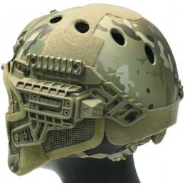 G-Force G4 System Nylon BUMP Helmet Mask w/ Goggles - CAMO