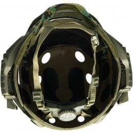 WoSport G4 System Nylon BUMP Helmet Mask w/ Goggles - WOODLAND DIGITAL