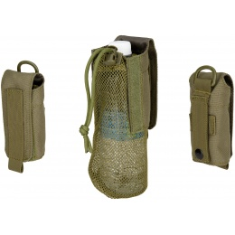 Wosport Tactical 1000D Nylon Folding Water Bottle Bag II - OLIVE DRAB