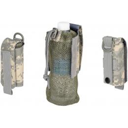 G-Force Tactical 1000D Nylon Folding Water Bottle Bag II - ACU