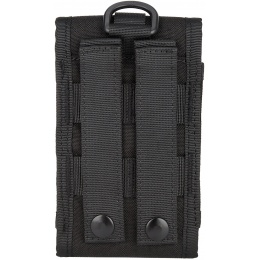 WoSport Tactical 1000D Nylon Safeguard MOLLE Mobile Bag - BLACK