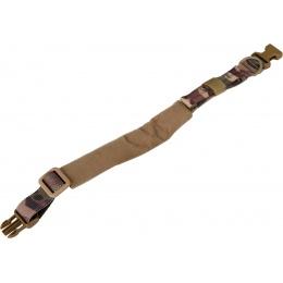 WoSport Reinforced Nylon Dog Collar w/ EVA Handle - CAMO