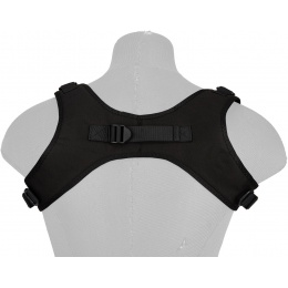 WoSport 1000D Nylon Tactical One-Point Sling Vest - BLACK