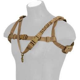 WoSport 1000D Nylon Tactical One-Point Sling Vest - CAMO