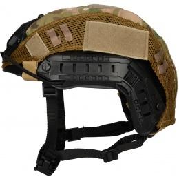 WoSport 1000D Nylon Polyester Bump Helmet Cover - CAMO