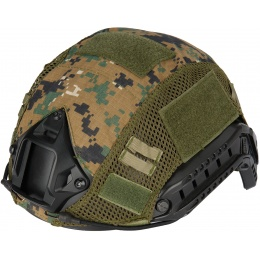 WoSport 1000D Nylon Polyester Bump Helmet Cover - WOODLAND DIGITAL