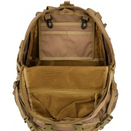 Lancer Tactical 600D EDC FAST Airsoft MOLLE Backpack - KHAKI