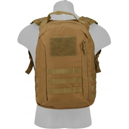 Lancer Tactical MOLLE Adhesion Scout Arms Backpack - COYOTE BROWN