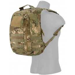Lancer Tactical MOLLE Adhesion Scout Arms Backpack - CAMO DESERT