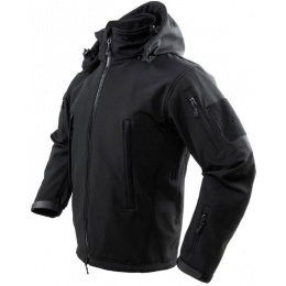 NcStar Delta Zulu Polyester Micro Fleece Jacket - BLACK