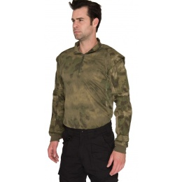 Lancer Tactical Shoulder Armor Breathable Jersey - FOLIAGE GREEN