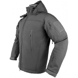 NcStar Delta Zulu Polyester Micro Fleece Jacket - URBAN GRAY