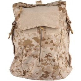TMC Zipper Back Panel Attachment Backpack - DESERT DIGITAL