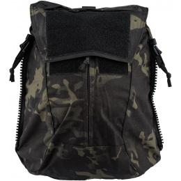 TMC Zipper Back Panel Attachment Backpack - CAMO BLACK