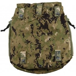 TMC Zipper Back Panel Attachment Backpack - WOODLAND DIGITAL