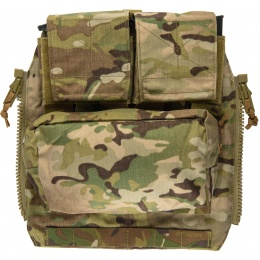 TMC Zipper Back Panel Attachment Pouch - CAMO