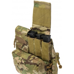 TMC Zipper Back Panel Attachment Pouch - CAMO