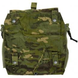TMC Zipper Back Panel Attachment Pouch - CAMO TROPIC