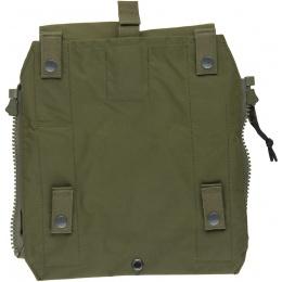 TMC Zipper Back Panel Attachment Pouch - RANGER GREEN