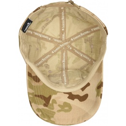 Lancer Tactical Scout Adhesion Morale Cap w/ Strapback - CAMO DESERT