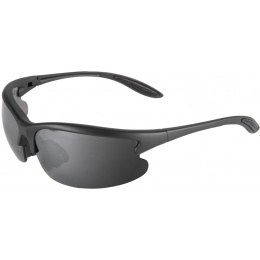 Lancer Tactical Outdoor Sunglasses w/ Interchangeable Lens - BLACK