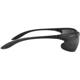 Lancer Tactical Outdoor Sunglasses w/ Interchangeable Lens - BLACK