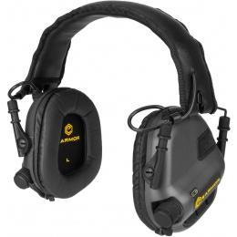 Earmor M31 Electronic Hearing Headphones w/ NATO Input  - BLACK