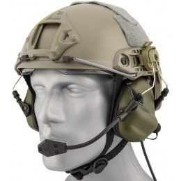 Earmor M32H Tactical Earmuffs for FAST MT Helmets - FOLIAGE GREEN