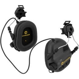 Earmor Tactical Noise Reduction Headset For Fast MT Helmets - BLACK