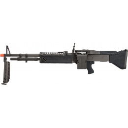 LCT Full Steel M60VN AEG Airsoft Light Machine Gun - BLACK