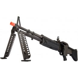 LCT Full Steel M60VN AEG Airsoft Light Machine Gun - BLACK
