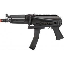 LCT Vityaz Steel PP-19-01 AEG Airsoft Submachine Gun - BLACK