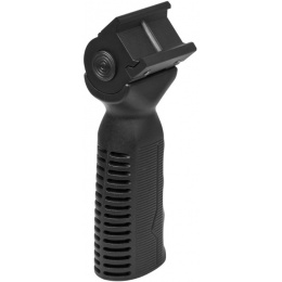 VISM 45°/ 90°/ -45° Side to Side Ergonomic Vertical Grip - BLACK