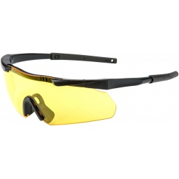 EARMOR Tactical Hardcore Shooting Glasses - YELLOW