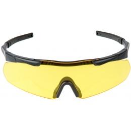 EARMOR Tactical Hardcore Shooting Glasses - YELLOW