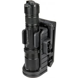 Opsmen Adjustable Tactical Flashlight Speed Holster - BLACK
