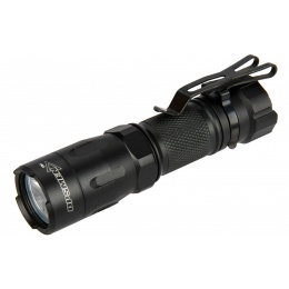 OPSMEN Tactical 800-Lumen Strobe Flashlight - BLACK