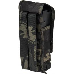 TMC C Double M4 MOLLE Vertical Tactical Pouch - CAMO BLACK